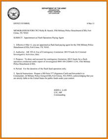 Army Memorandum Template by 10 Army Memo Format Inventory Count Sheet
