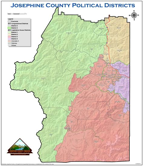 Josephine County Records Josephine County Election Maps