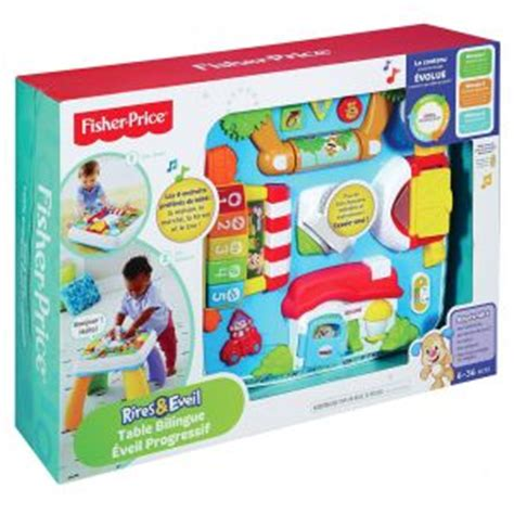 table eveil fisher price fisher price table bilingue eveil progressif comparer