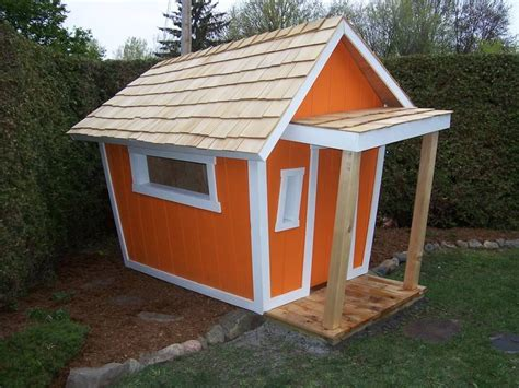 backyard storage shed playhouse how to build yourself