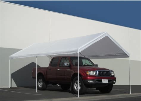 garage awning kit carport garage kits carport canopy 10 x 20 shelter tent