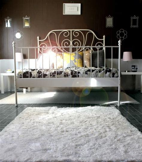 metal headboards ikea leirvik bed frame white iron bed frames white rug and
