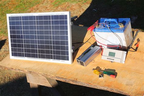 how to build solar energy system how to build a basic portable solar power system cing boating grid living