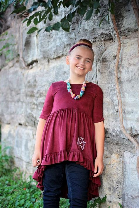 Amelia Blouse By Briseis Collection amelia tween top violette field threads