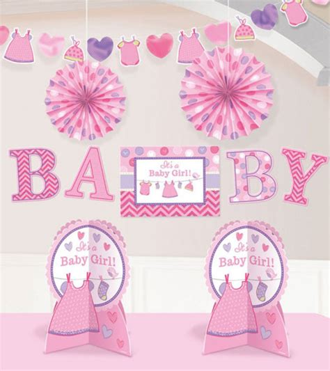 Babyparty Deko Set by 10 Teiliges Deko Set Quot Shower With Quot Baby