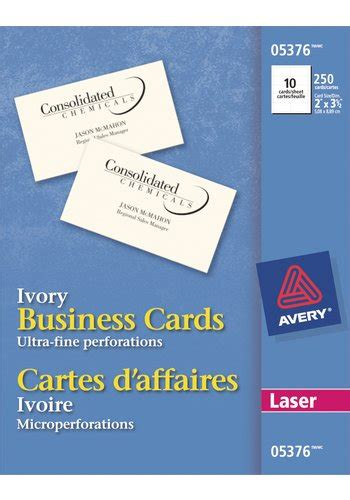 perforated business cards template avery 174 05376 perforated business cards 2 quot x 3 1 2