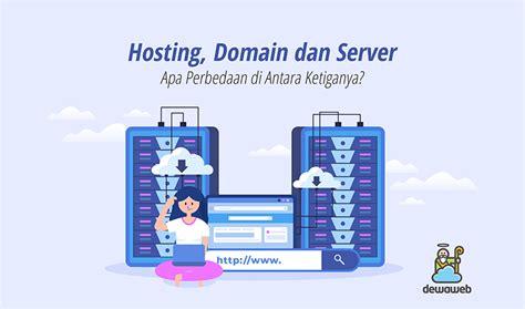 perbedaan hosting domain  server blog dewaweb
