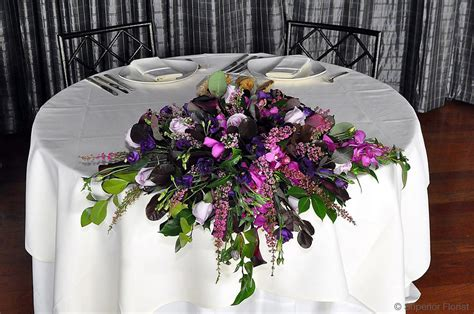 Peacock Home Decor superior florist event florals sweetheart tables