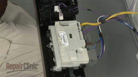 whirlpool dishwasher lights flashing repair help