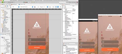 design app studio products appcelerator incappcelerator inc