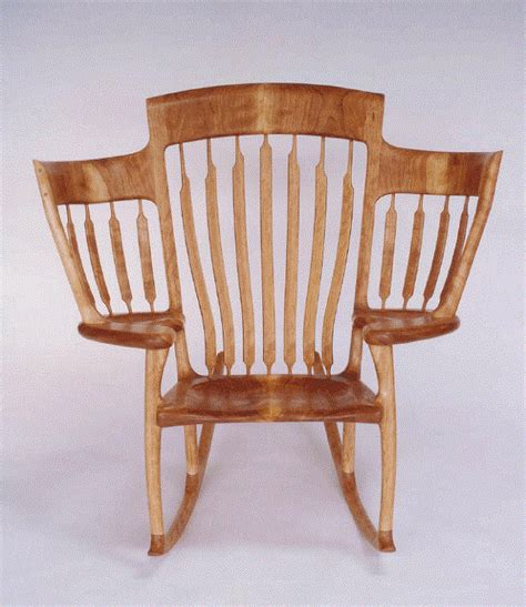 Chair Stories by A Wooden Three Seater Storytime Rocking Chair Designed