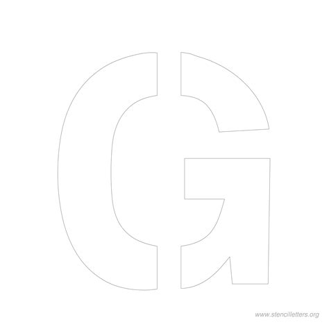 6 Inch Letter Stencils