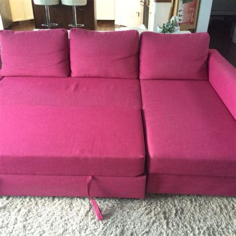 Buy Sofa Bed Ikea Find More Ikea Friheten Sofa Bed With Chaise Pink Posted Elsewhere For Sale At Up To 90