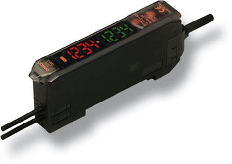 Photo Fiber Sensor E3x Zd11 Omron Original industrial automation sensors fiber optic lifiers e3x dac s omron europe