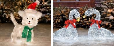 Outdoor Christmas Light Decoration - winter wonderland outdoor christmas decoration ideas