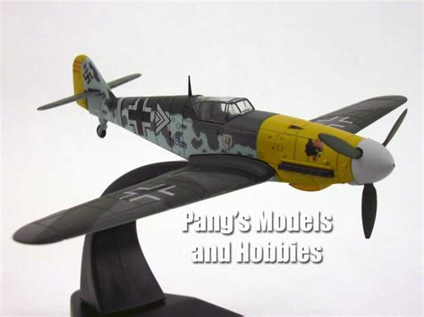 libro messerschmitt bf 109 the messerschmitt bf 109 bf 109f 1 72 scale diecast metal model by oxfor pang s models and hobbies