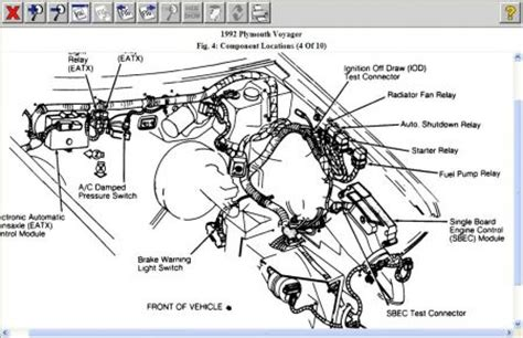 1992 plymouth voyager fuel pump wiring diagrams: there is