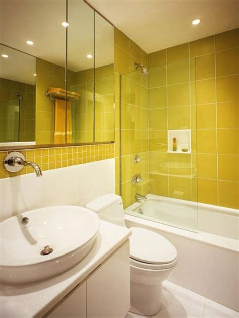 Yellow Tile Bathroom Ideas by 18 Cool Yellow Bathroom Designs Ultimate Home Ideas
