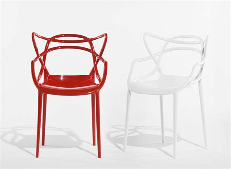 Chaises Philippe Starck Kartell 2214 by Chaise Masters Starck Pour Kartell