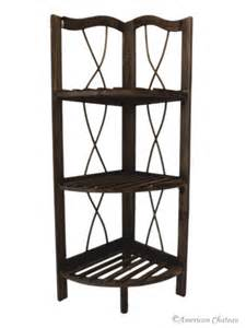 corner shelving unit for bathroom free standing wood kitchen bathroom 3 shelf corner