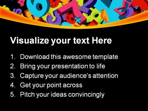 powerpoint templates numbers free number powerpoint template numbers education powerpoint