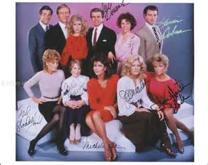 Of Knots Landing Knots Landing Tv Cast Photograph Signed With Cosigners