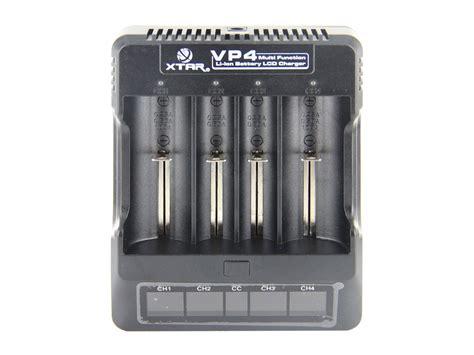 Ad5667 Charger Xtar Vp4 For 18650 26650 14500 Dll Sa Kode Gute5533 2 xtar vp4 4 bay smart battery charger lcd digital display