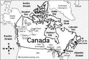 map of canada for printable