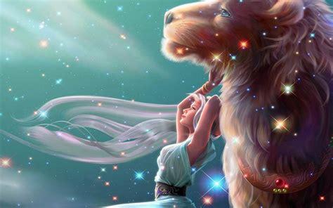 imagenes de leones fantasia fondo escritorio amor chica y le 243 n