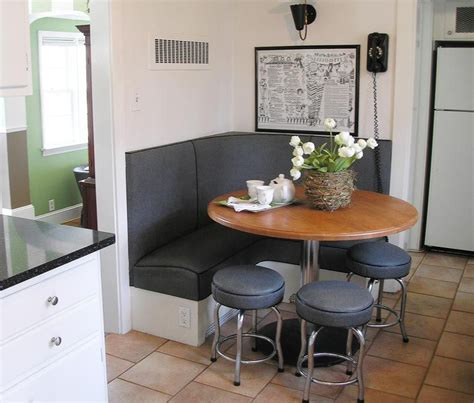 furniture wooden kitchen table with booth seating diy
