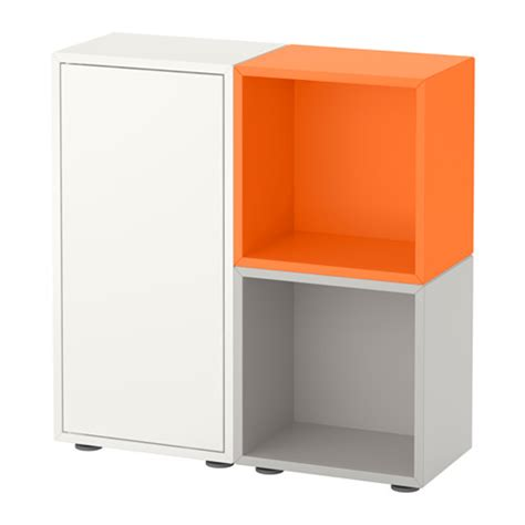 ikea eket review eket storage combination with feet white orange light