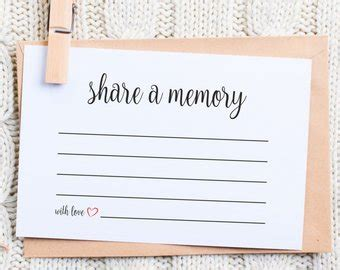memory cards template a memory card instant editable pdf template