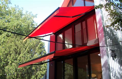 red awnings gallery sunrooms and awnings