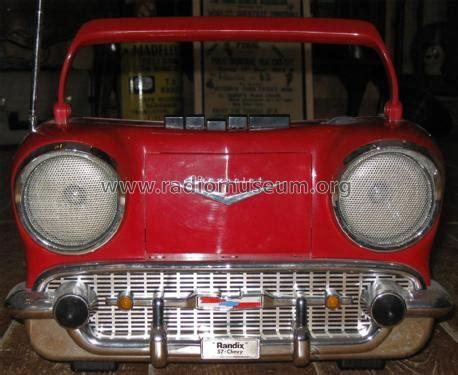 chevy 57 cr 1957 radio randix industries ltd milford ma bu