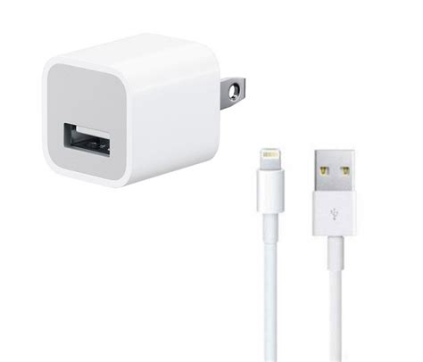 cable iphone charger iphone lightning usb cable wall charger bundle