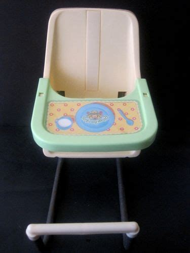 doll booster seat cabbage patch doll booster seat high chair 1983 coleco