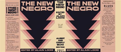 the new negro the of alain locke books new negro the alain locke