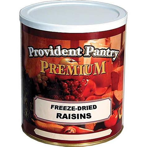 Provident Pantry Shelf by Freeze Dried Raisin Food Storage
