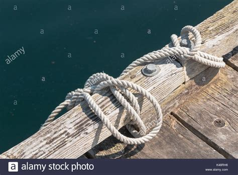 boat knots for docking tying up boat stock photos tying up boat stock images