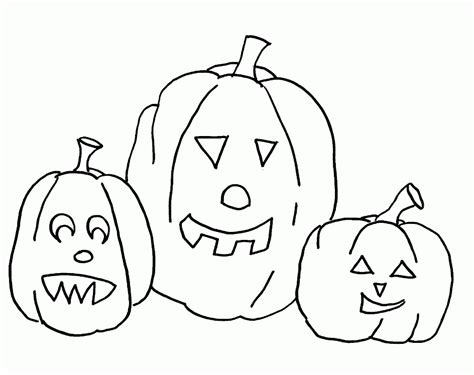 easy coloring pages for halloween easy halloween coloring pages az coloring pages
