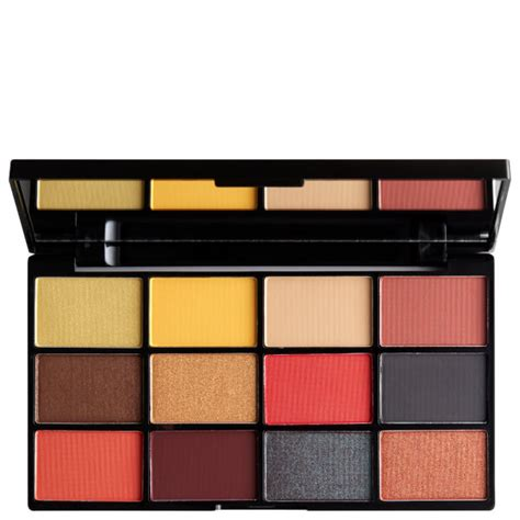 Lipstick Palette Nyx nyx professional makeup in your element shadow palette free shipping lookfantastic