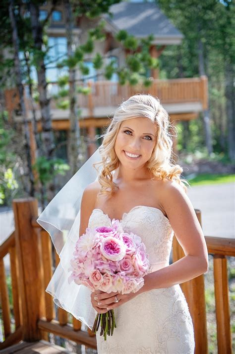Wedding Hairstyles Side Parting by Photos Medium Length Bridal Hairstyle