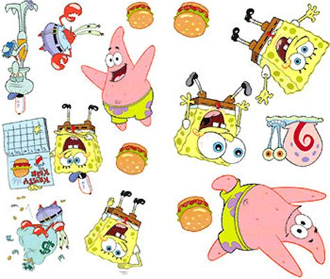 Wallpaper Sticker Spongebob 1 302 moved temporarily
