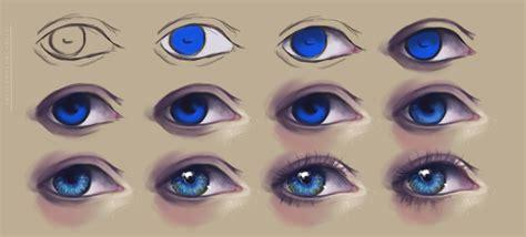 eyeshadow tutorial art semi realism eyes tutorial by felicemelancholie on deviantart