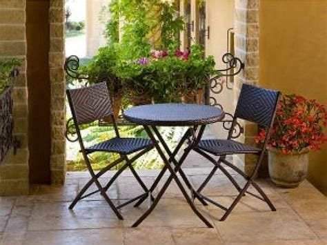 Small Outdoor Chairs Patio Furniture For Small With Outdoor Balcony Nrd Homes