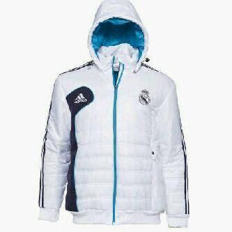 Jaket Real Madrid Abu 201516 Grade Ori jual jersey bola malang murah grade ori made in thailand jaket waterproof real madrid