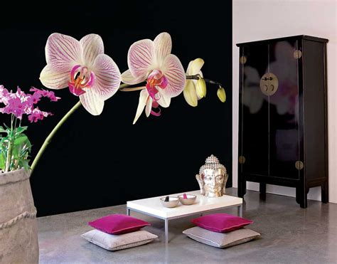 design flower decoration lovable asian style contemporary interior design with