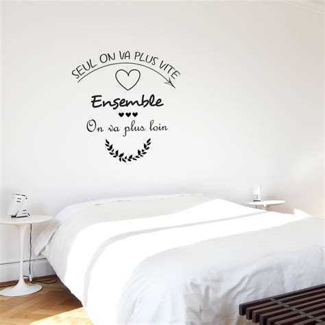 sticker phrase chambre stickers adh 233 sifs de phrases sur l amour avec coeurs pour