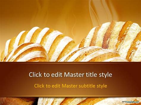 powerpoint themes bread free bread ppt template