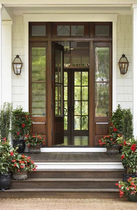 Exterior Farmhouse Doors Exterior Farmhouse Doors Entry Farmhouse With Exterior Stairs Modern Farmhouse Modern Farmhouse